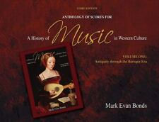 A Anthology of Scores for A History of Music in Western Culture Volume-ExLibrary