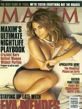 Maxim Magazine November 2007 Eva Mendes Susie Castillo Josie Maran
