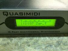 Vintage Quasimidi Techno X Synth/Rack Drum Set/DJ/Technox // Armens