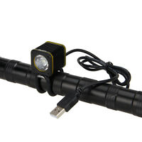 Portable Mini USB 5000LM T6 LED Bicycle Light Head Bike Torch Lamp Headlight 5V