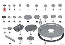 Genuine Blind Plug x5 pcs BMW MINI BMW I ROLLS-ROYCE ZINORO Alpina 07147221349