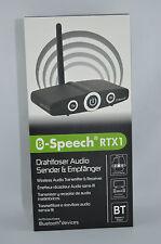 B-SPEECH RTX1 professioneller Bluetooth 2.1 EDR Sender und Empfanger OVP