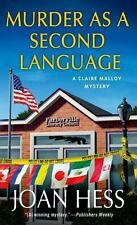 BUY 2 GET 1 FREE  Murder As a Second Language 19 by Joan Hess (2014,...