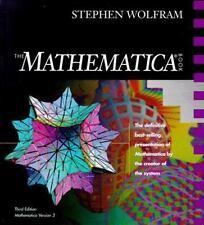 The MATHEMATICA ® Book, Version 3 Wolfram, Stephen Hardcover