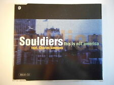 SOULDIERS feat. CHARLES SIMMONS : THIS IS NOT AMERICA (Bowie) [ CD-MAXI PORT 0€]