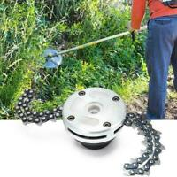 Trimmer Head Coil Chain Brushcutter Garden Grass Lawn Mower