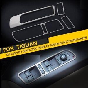 Fensterheber Blenden für VW TIGUAN 5N Abdeckung Rahmen Zierrahmen Edestahl TDI