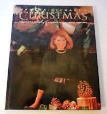 Vintage 1989 1st Ed MARTHA STEWART Christmas Cookbook Decorating Entertaining