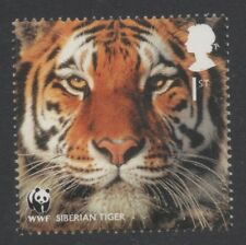 SIBERIAN TIGER/CATS/WWF/GB 2011 UM MINT STAMP