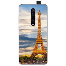 Funda Gel Tpu para Xiaomi Mi 9T / Mi 9T Pro diseño Paris Dibujos