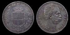 pci1148) Regno d'Italia Umberto I lire 5 scudo 1879