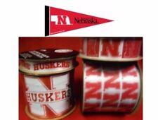 Nebraska Cornhuskers NCAA Licensed Ribbons & Mini Pennants