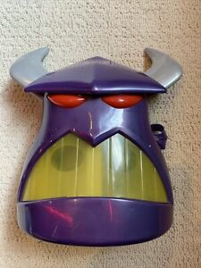 RARE Disney Pixar Emperor Zurg Toy Story Mask Lightup Talking Costume Mask Works