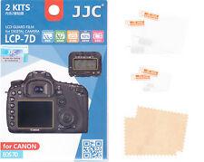 2 + 2 Protezione schermo Canon EOS 7D display cover pellicola 5 STRATI