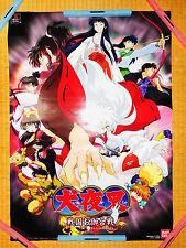 Ps Inuyasha Sengoku Otogi Gassen 72x51cm Rare Promo Poster Official Japan kp#55