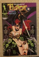 JIM BALENT'S TAROT WITCH OF THE BLACK ROSE #26, COVERS A DELUXE ED  9.6 & B  9.4