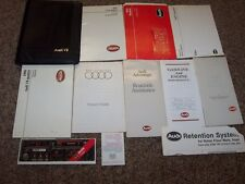 1990 Audi V8 Quattro Factory Owner Operator User Guide Manual Set ORIGINAL 3.6L