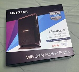 NETGEAR Nighthawk DOCSIS 3.0 Cable Modem Router (C7000-1AZNAS)