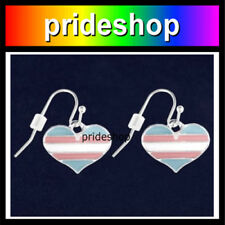 Transgender Ribbon Lanyard Safety Neck Release With Ring And Claw Clasp #1096