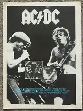 AC/DC - THAT'S THE WAY 1988 full page UK magazine ad