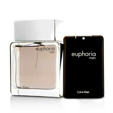 Calvin Klein Euphoria Men Coffret: EDT Spray 100ml/3.4oz + EDT 20ml/0.67oz Men's