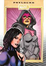 PSYLOCKE / Marvel 75th Anniversary (2014) BASE Trading Card #63