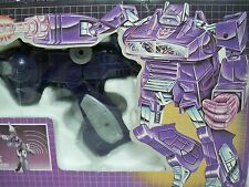 D1030161 SHOCKWAVE TRANSFORMERS G1 MIB STYLE 100% COMPLETE DECEPTICON 1986