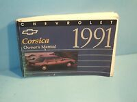 91 1991 Chevrolet Corsica owners manual