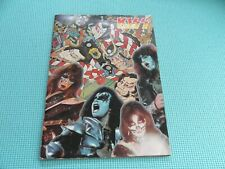 KISS 1977 Japan UDO Rockupation Tour Book Programme Japan Program