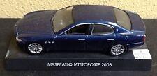 Modellino Maserati Quattroporte 2003 Originale