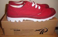 Palladium Unisex BLANC OX Red & White Casual Shoe Size US M11 NEW!
