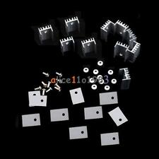 10PCS TO-220 Silver Heatsink Heat 20x15x11mm for Voltage Regulator or MOSFET