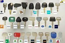 28 Excavator Plant Digger Keys Master Set BOBCAT KUBOTA HITACHI JCB KOMATSU CAT
