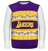 Los Angeles Lakers Pullover Sweater Ugly,NBA Basketball,Winter Style,Gr.XL