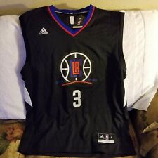 LOS ANGELES CLIPPERS JERSEY - LARGE - THROWBACK - ALT. LOGO - ADIDAS - NWT
