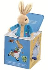 NEW Peter Rabbit Musical Jack in the Box Beatrix Potter *FREE AU SHIPPING!*