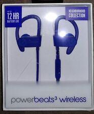 GENUINE Beats by Dr Dre Powerbeats 3 Wireless Earphones (Blue) Australian Stock!