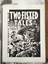 Two Fisted Tales #30 EC Cover Scarce limited prints