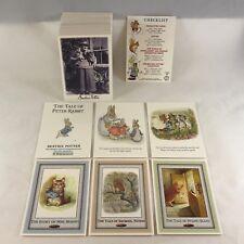 BEATRIX POTTER Complete Card Set PETER RABBIT & MORE (Tempo/1996) 110 Cards!
