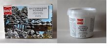 Busch Winter Season Snow Powder 7171 Snow Paste 7172 Craft Rail Dioramas Scenics