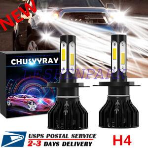 Mini 4-Side H13 9008LED Headlight Hi/Lo Beam K9 FIT For Hyundai Accent/Honda Fit