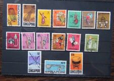 More details for singapore 1968 - 1973 set to $10 used sg101 - sg115