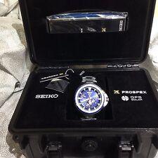 New Seiko Prospex Solar GPS Dual-Time Titanium Men's LTD Watch SSF001