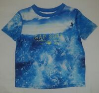babyGap Equinox Blue Boys Henley Short Sleeve Baby One Piece 9-12M New