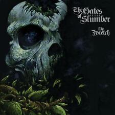 "THE GATES OF SLUMBER ""THE WRETCH"" DOUBLE LP CLEAR VINYL LTD"
