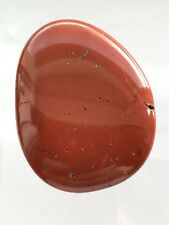 BRAND NEW, IN POUCH, RED JASPER PALM STONE WITH POUCH GROUNDING, KUNDALINI, RJ21