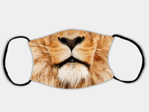 Lion Adjustable Face Mask with 2 x PM2.5 Filters
