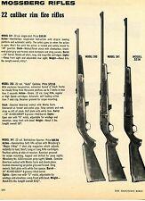 1976 Print Ad of Mossberg Model 353 341 & 321K .22 Rim Fire Rifle