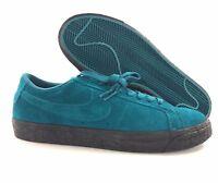 Nike SB Zoom Blazer Low Geode Teal Green Black 864347-300 Men's 10.5-11