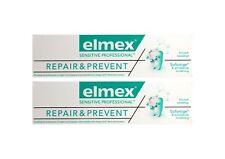 2x elmex SENSITIVE PROFESSIONAL REPAIR & PREVENT Zahnpasta 75ml Zahncreme